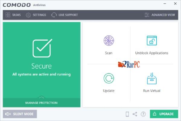 Comodo antivirus for windows 7