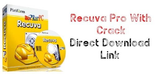 Recuva Pro Full Crack