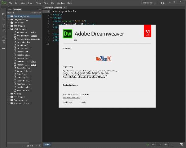 adobe dreamweaver cc with key