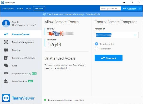 TeamViewer crack key