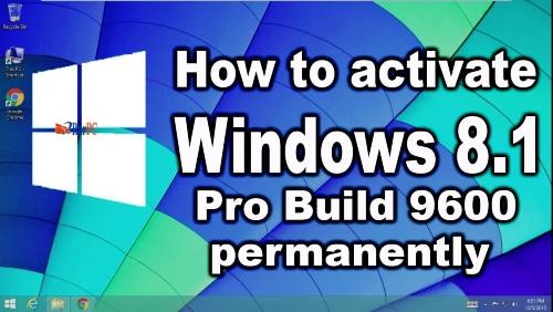 Windows 8.1 Pro Build 9600 Product Key
