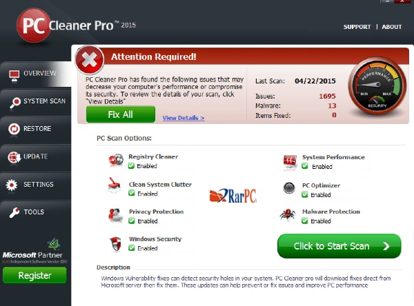 pc cleaner pro cracked